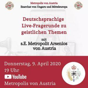 Weiterlesen: Live-Fragerunde mit S. Em. Metropolit Arsenios zu geistlichen Themen