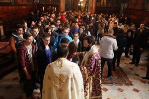 Ostergottesdienst für orthodoxe SchülerInnen in der Metropolis