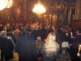 Ἀναστάσιμη θεία Λειτουργία, Βιέννη