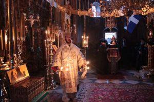Weiterlesen: Heiliger Berg Athos: Metropolit Arsenios feiert Gedenktag des Hl. Nephon im Dionysiou-Kloster