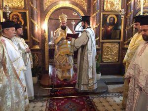 Göttliche Liturgie am 1. Jänner 2017 in der Kirche zum hl. Georg