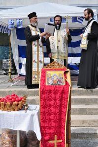 Feier des Ostermontags im Exarchat von Ungarn