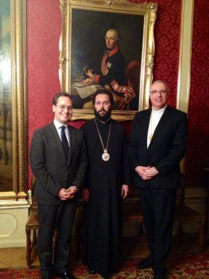 Bischof Ägidius von Eisenstadt besucht Metropolis von Austria