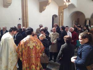 Metropolit Arsenios besucht die orthodoxe Gemeinde in Graz
