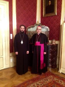 Weiterlesen: Grazer Bischof Wilhelm Krautwaschl zu Besuch in der Metropolis von Austria