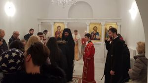 Weiterlesen: Erste Göttliche Liturgie in der Kapelle zum Hl. Johannes Chrysostomos